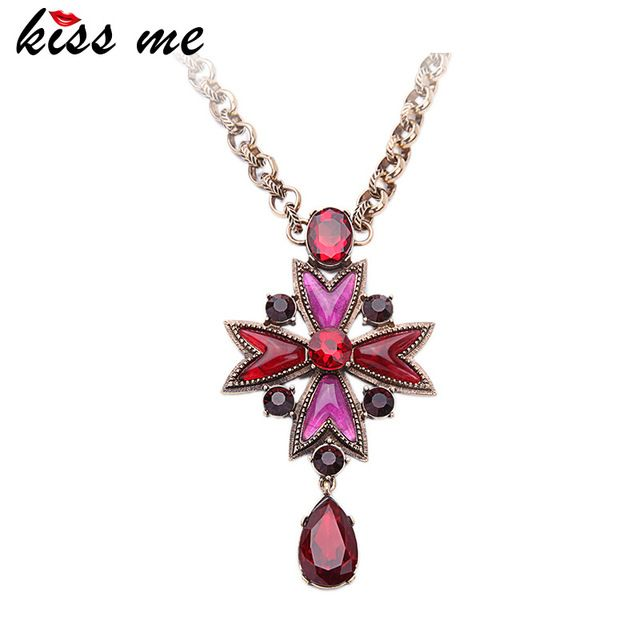 Последний Поцелуй Меня Красочные Звезда Сплава Золотая Цепь Ожерелье Модные Девушки Старинные Ювелирные Изделия Ожерелье