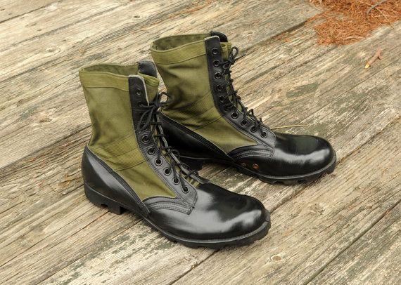 RO Search jungle boots combat military by CarnivalOfTheManiac
