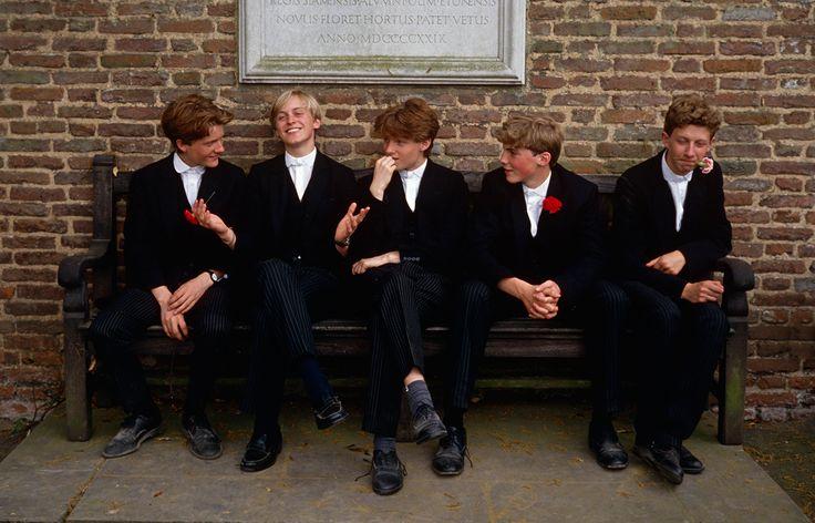 Eton College boys