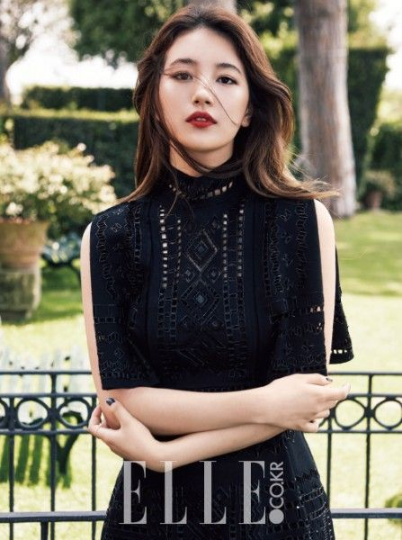 Suzy for Elle Korea Magazine.