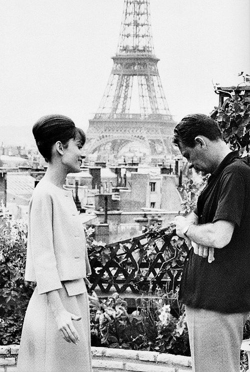 """Audrey Hepburn """"She was the love of my life"""" . — William Holden"""