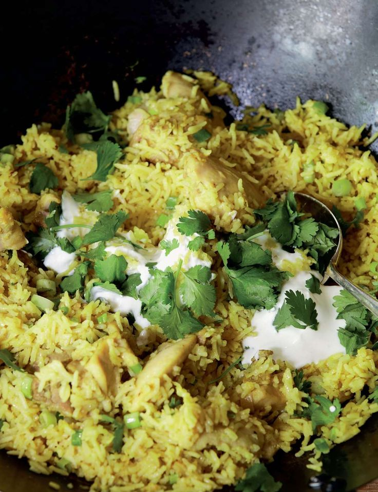 Easiest ever chicken pilaf from Anjum's Quick & Easy Indian by Anjum Anand | Cooked.com