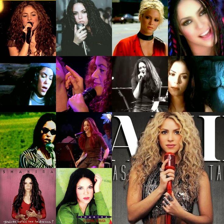 LAS CADERAS TABASCO: Las 12 canciones de Shakira que muchos extrañan
