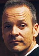 Peter Sarsgaard as Father Bill Lombardy in the Pawn Sacrifice Bobby Fischer chess movie. Read 'Pawn Sacrifice: History vs. Hollywood' - http://www.historyvshollywood.com/reelfaces/pawn-sacrifice/