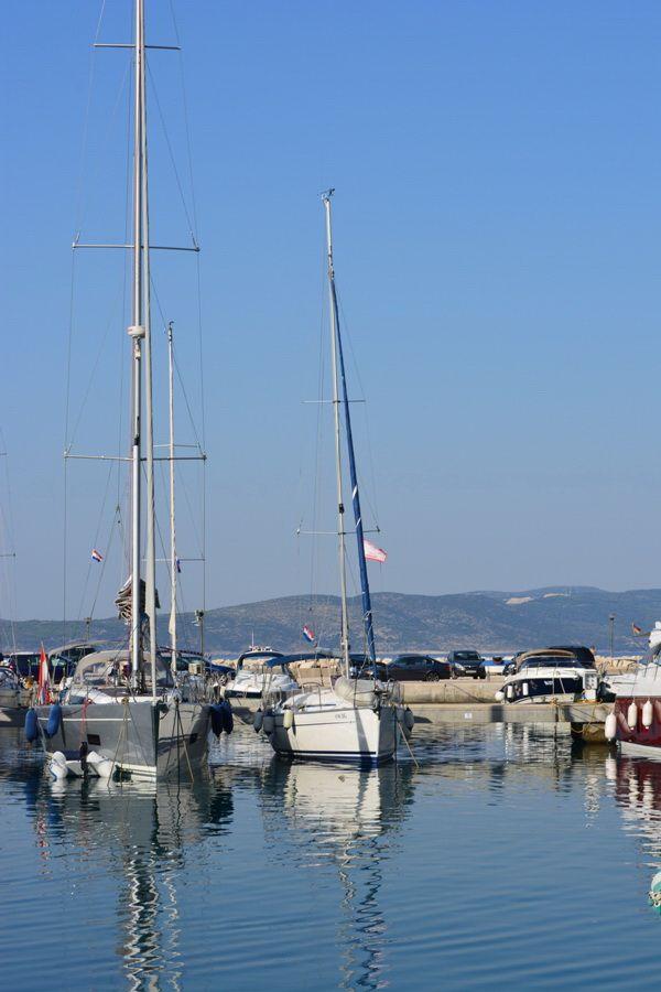 harbor in croatia