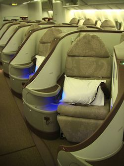 Flying Business Class for Free