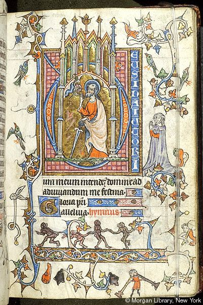 Book of Hours, MS M.754 fol. 11r - Images from Medieval and Renaissance Manuscripts - The Morgan Library & Museum