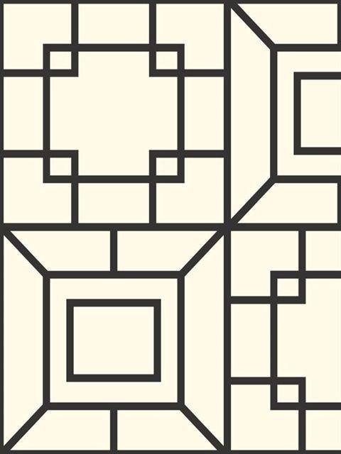 Black and White Theorem Wallpaper