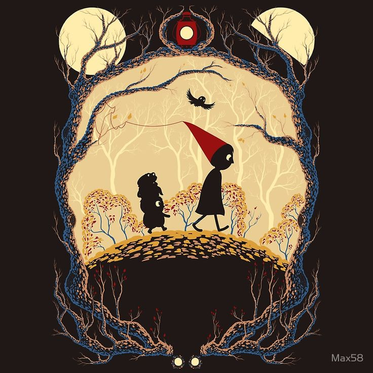 Journey - over the garden wall redbubble
