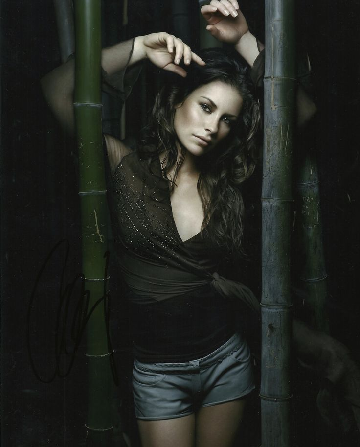 My Evangeline Lily signed photo
