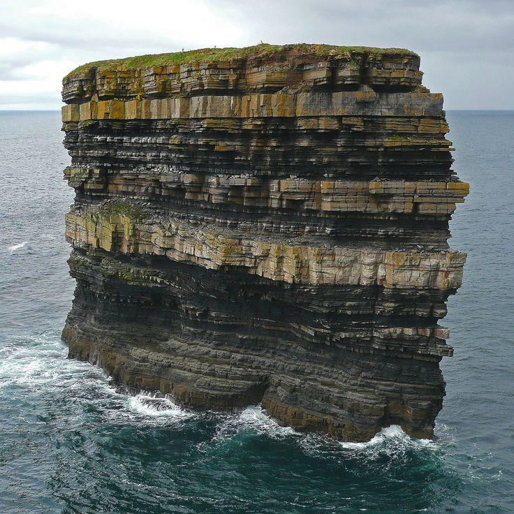 Downpatrick Head - Ballycastle - Co. Mayo (Ireland): Colors Pallets, Layered Cakes, Downpatrick Head, The Ocean, Rocks Formations, Arco Ardon, Places, Mothers Natural, Mayo Ireland