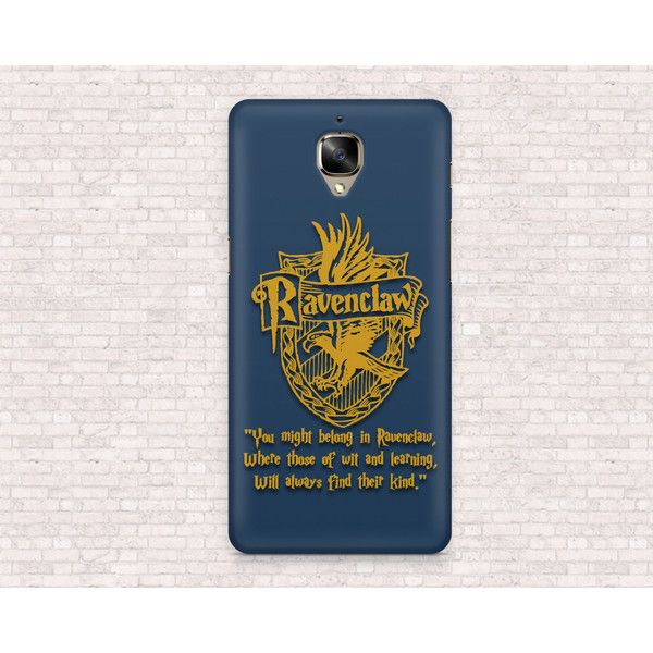 Harry Potter Ravenclaw phone case iPhone 7, iPhone 6, OnePlus 3,... ($20) ❤ liked on Polyvore featuring accessories, tech accessories, samsung, samsung galaxy smartphone and samsung smartphones