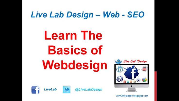 Learn The Basics of Webdesign - Live Lab SEO