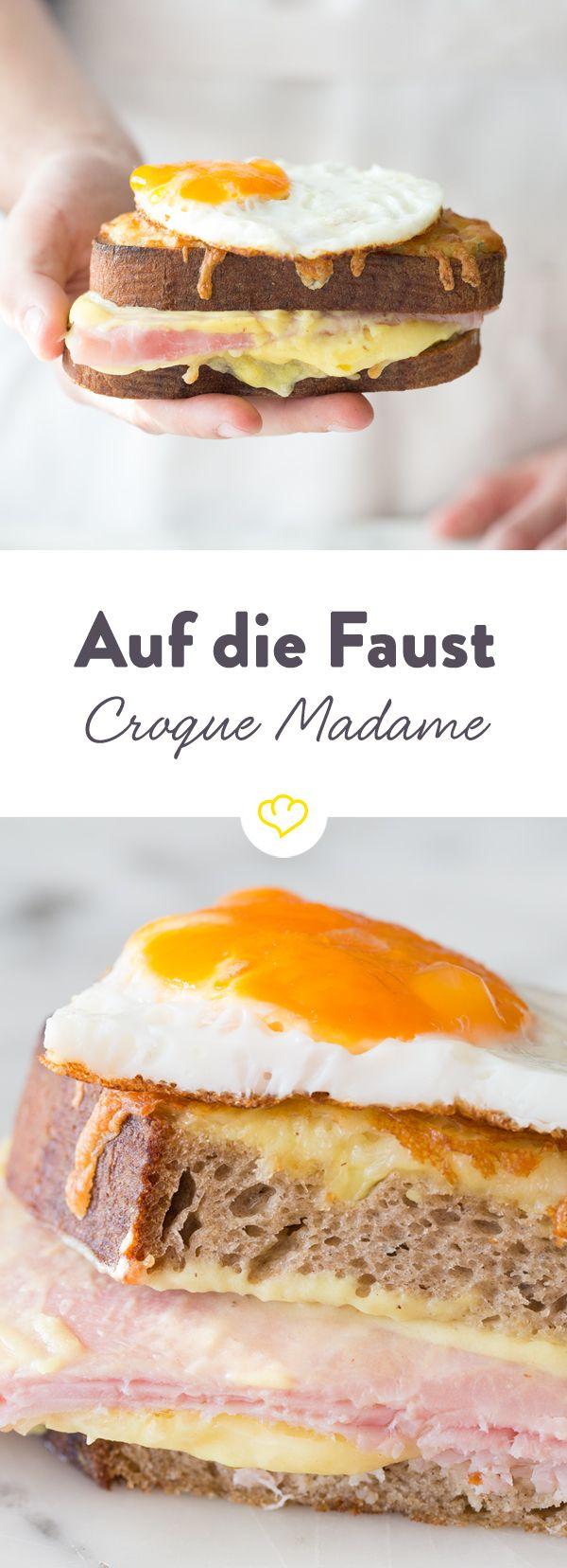 Auf die Faust - Croque Madame