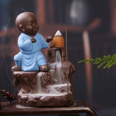 Waterfall Incense Burner With Incense Cones - bigsmall.in