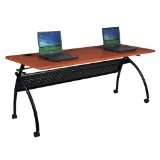 "Chi Flipper Table Width: 60"", Color: Light Cherry (Office Product)"