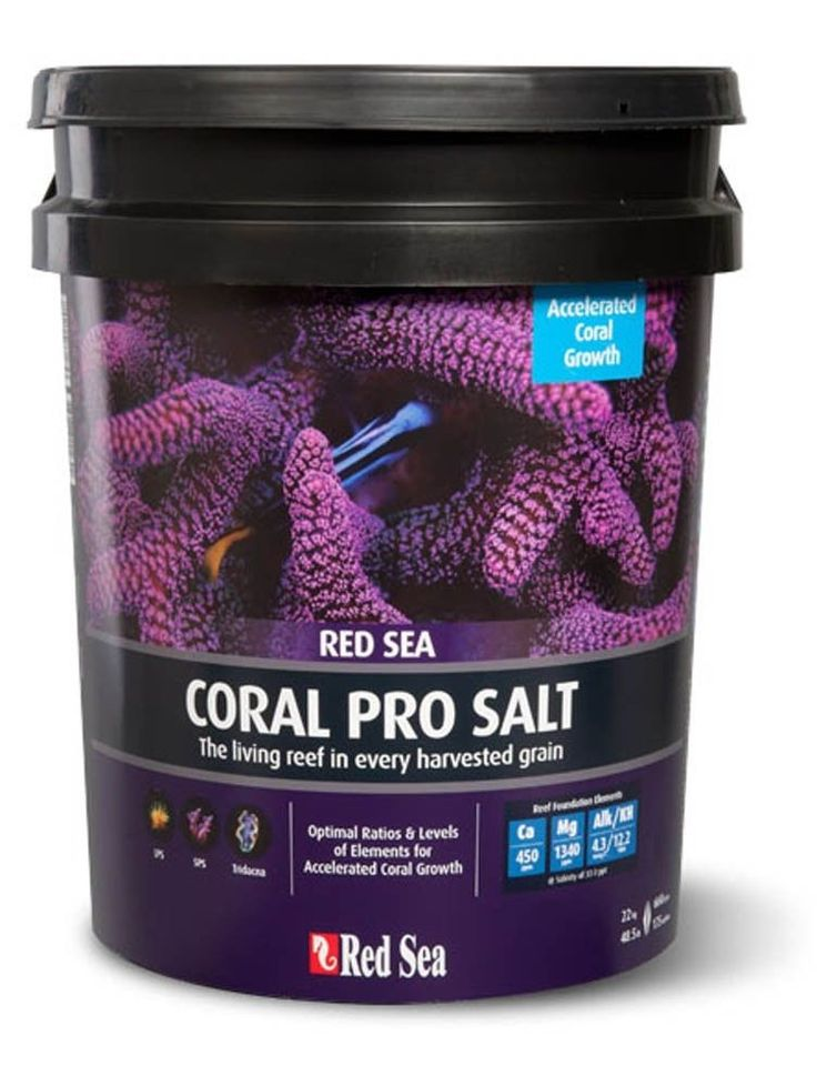 Other Fish and Aquarium Supplies 8444: Red Sea Coral Pro Salt Mix 55Gal Bucket Reef Aquarium Saltwater -> BUY IT NOW ONLY: $32.95 on eBay!