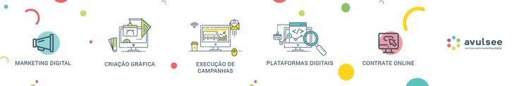 Serviços avulsos de #marketingdigital com compra 100% online. Banners para #Facebook, #Google, layouts. Criamos e monitoramos campanhas no Google e Facebook. Site, blog, landing page. Compre online e pague em até 10x sem juros.