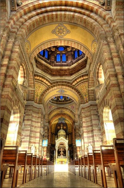 Intérieur de la cathédrale de la Major.