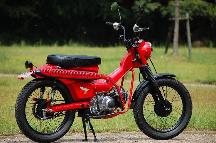 Honda CT110 - Long distance adventure contender?