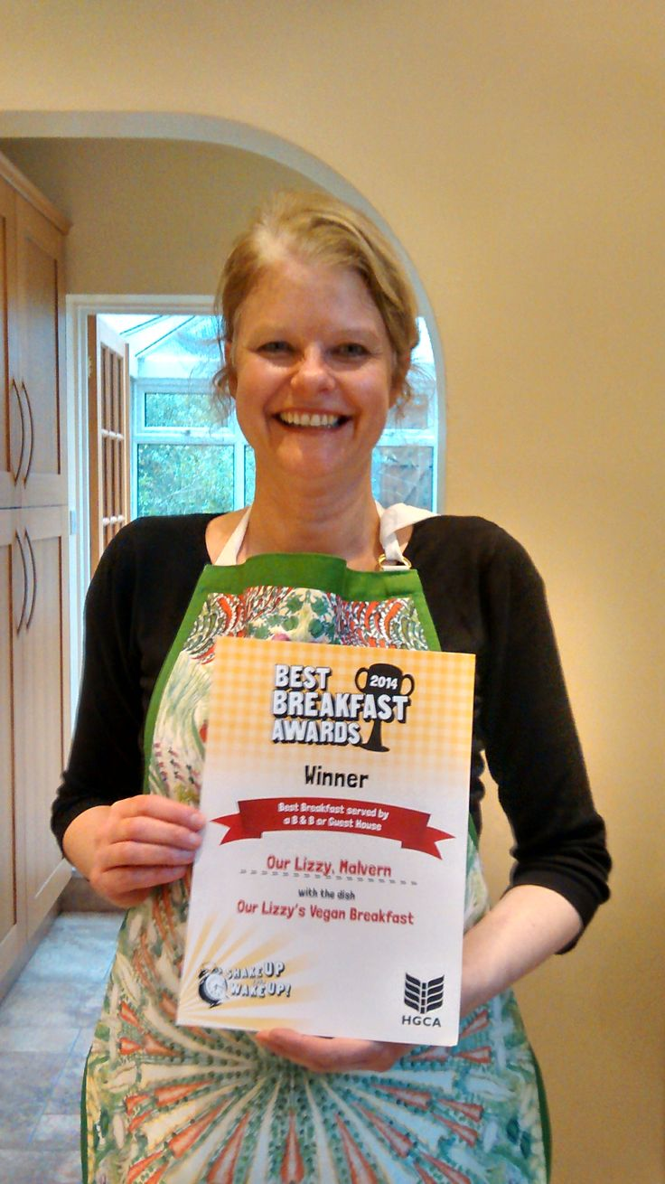 Proud to come top in B and B in national Farmhouse Breakfast Week awards:)