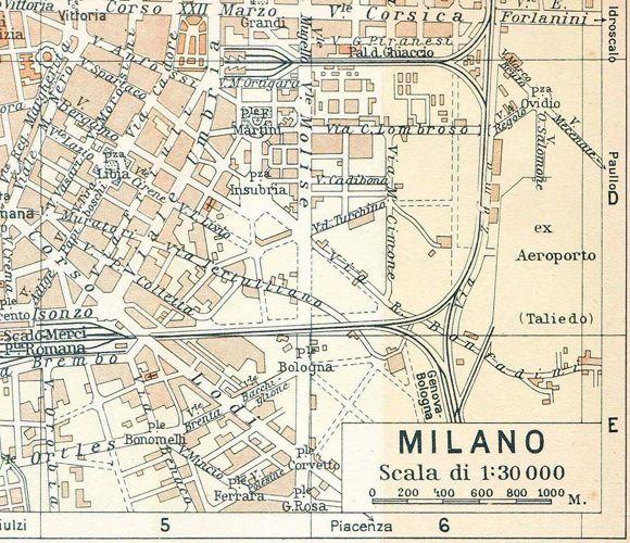 Milan Italy Map