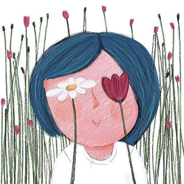 Жизнь слишком коротка, что бы просыпаться утром с сожалениями. Так что #люби тех, кто относится к тебе хорошо, прощай тех, кто не прав, и верь, что все происходит не случайно.  .  Мать Тереза  Ил.: Лиана Уллина  #иллюстрация