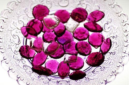 DIY candy gemstones.