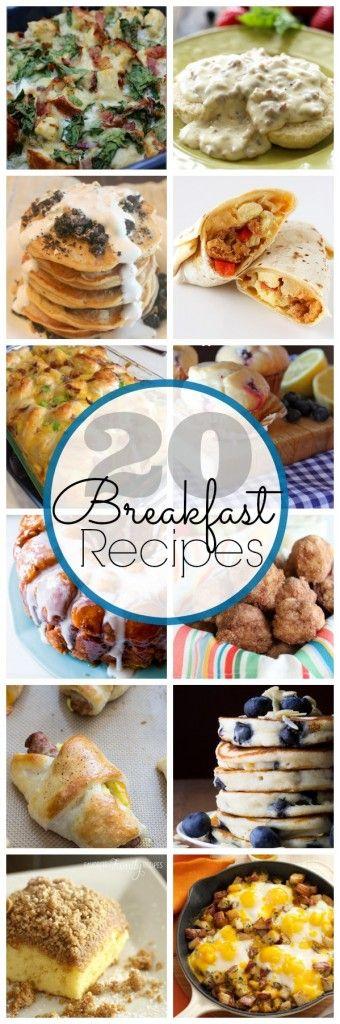 20 amazing Breakfast Recipes