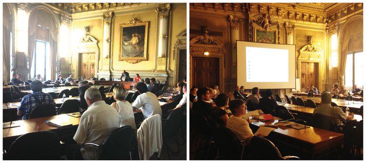 """Il y avait du monde la semaine dernière pour la conférence """"Transmettre ou trouver son entreprise"""" animée par Charles-Alexandre Giaux, Associé et Expert-comptable, à la CCI Lyon Métropole."""