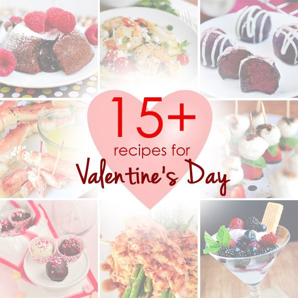 15+ recipes for Valentine's Day including appetizers, starters and sides, main dish ideas, and desserts. | iowagirleats.com
