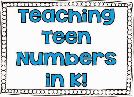 328 best Math: Teen Numbers/100 images on Pinterest | Preschool ...