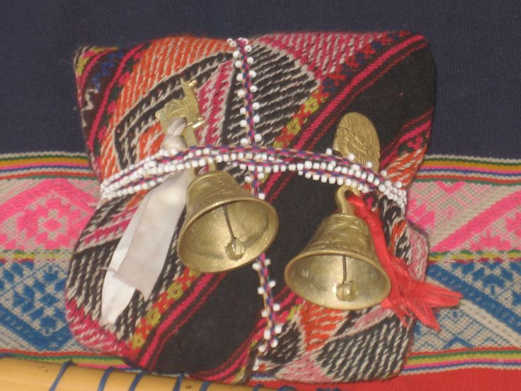 Mesa or Medicine Bundle used by the Q'uero in ceremony.