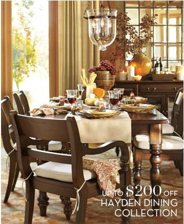 pottery barn dining room house stuff pinterest