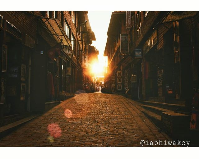 "Reposting @iabhiwakcy: ""Travel makes one modest. You see what a tiny place you occupy in the world."" -Gustav Flaubert - Captured while exploring ""Bhaktapur Darbur Square"" - - - - - #nepal #majorthrowback #tbt #busystreets #sunset #nikon #nikond5200 #nikonphotography #nikor70300 #70300mm #photographyeveryday #photographyislife #photography #instapics #instagood #instapics #igers"