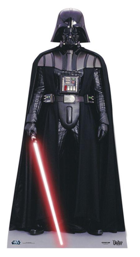 Figurine Géante Dark Vador Star Wars 195 x 96 cm