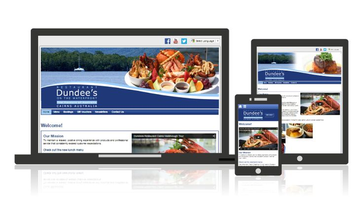 Dundees Restaurant | Website Development