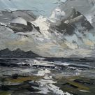 Martin Llewellyn, Light Through Clouds, Caernarfon Bay
