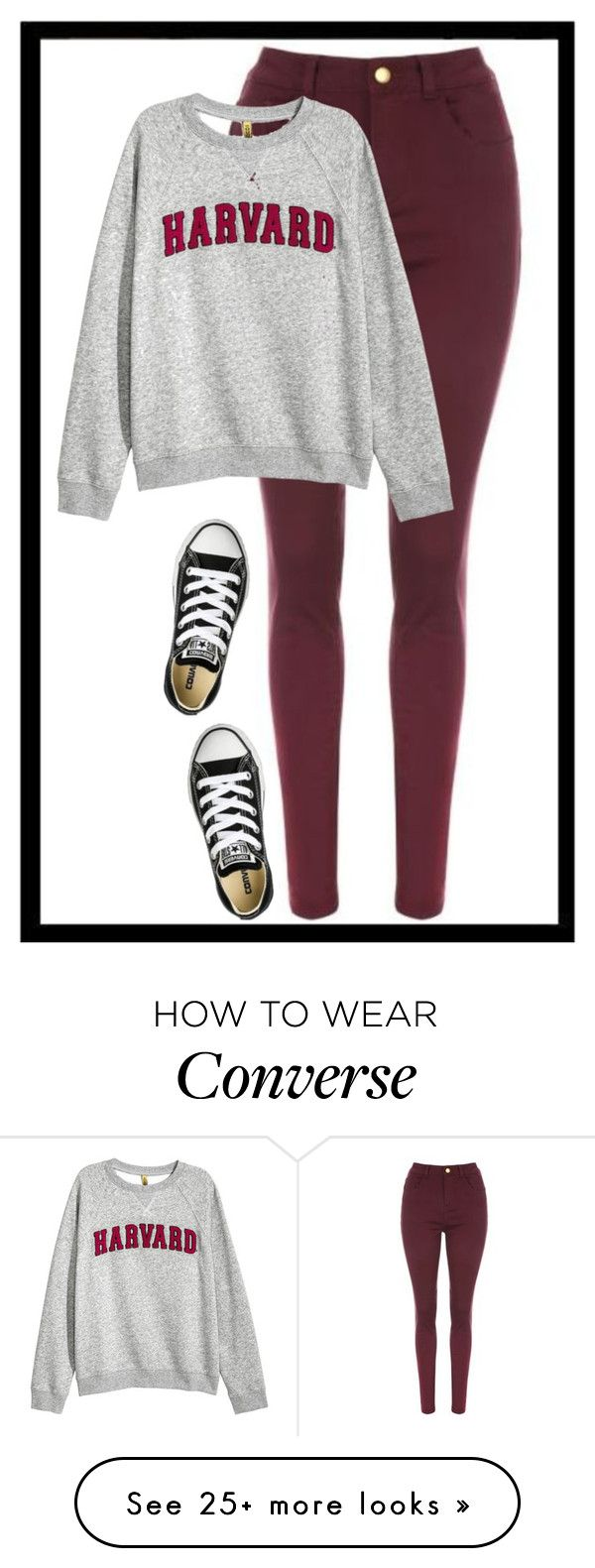 """""""Geen titel #352"""" by x-essie-x on Polyvore featuring Converse"""