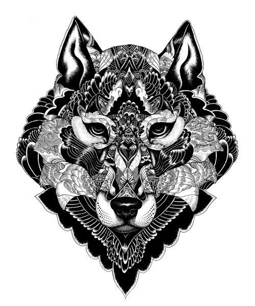 wolf / iain macarthur - tattoo idea
