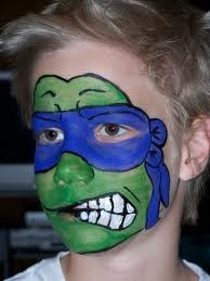 Leonardo - teenage mutant ninja turtle - Face Paint! | f a ...