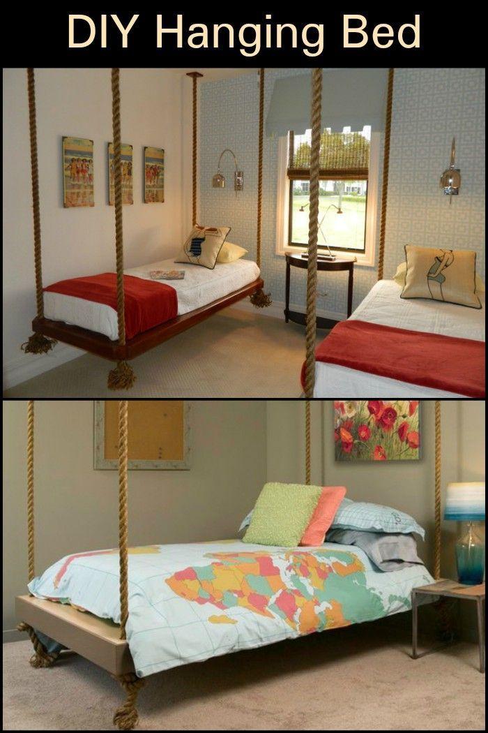 Diy Hanging Bed The Owner Builder Network Hanging Pallet Beds Hanging Bed Diy Kids Pallet Bed