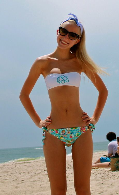 Monogram top w/ Lilly bottoms! | Beachy :) | Pinterest | Swim, Lilly ...