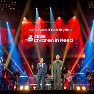 A GREAT show on tonight for BBC Children In Need, One Big Night - BBC One at 8pm, with me and Rob Brydon!