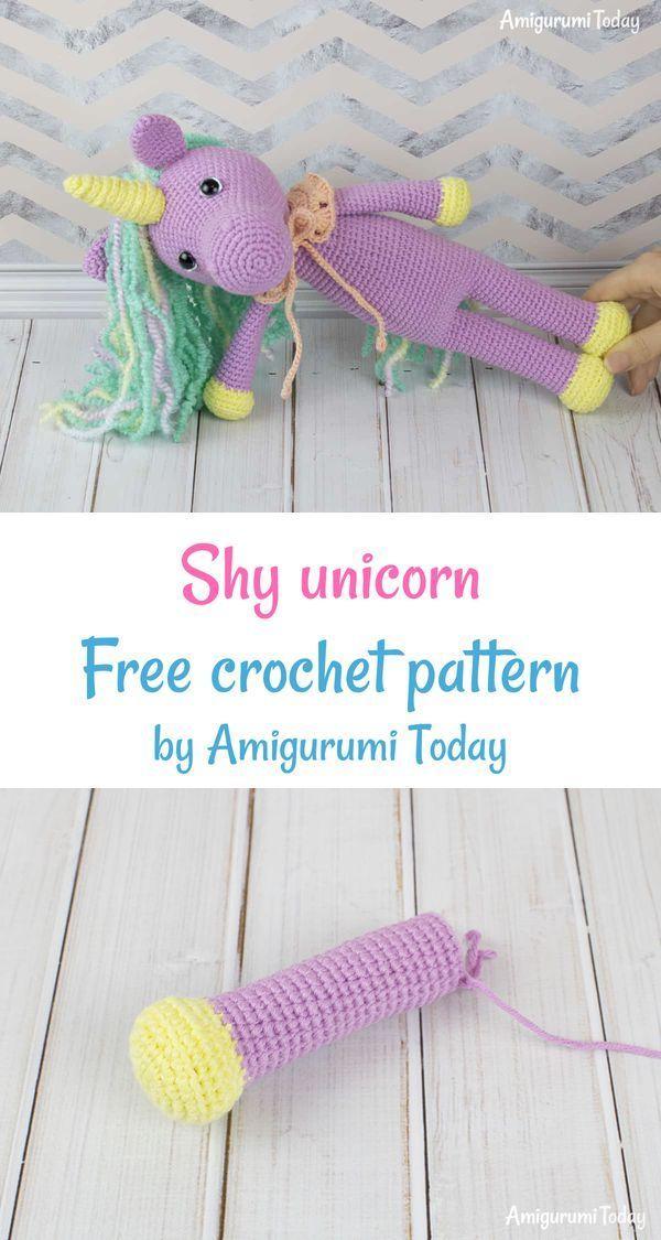 Baby unicorn amigurumi pattern - Amigurumi Today | 1125x600