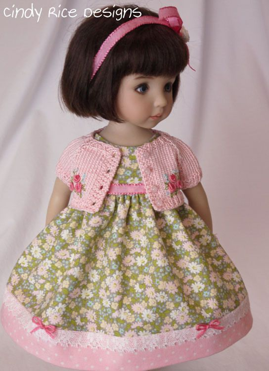 Cindy Rice clothes for Little Darlings dolls: