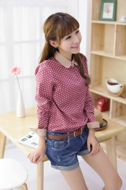 Nueva del estilo de Corea de la vendimia  Precio: 55.000 Estilo: Moda Talla: S M L
