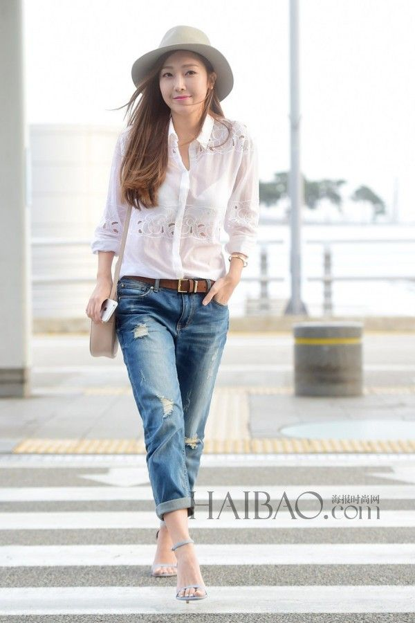 Jessica Jung Airport Fashion Jung Sisters Pinterest