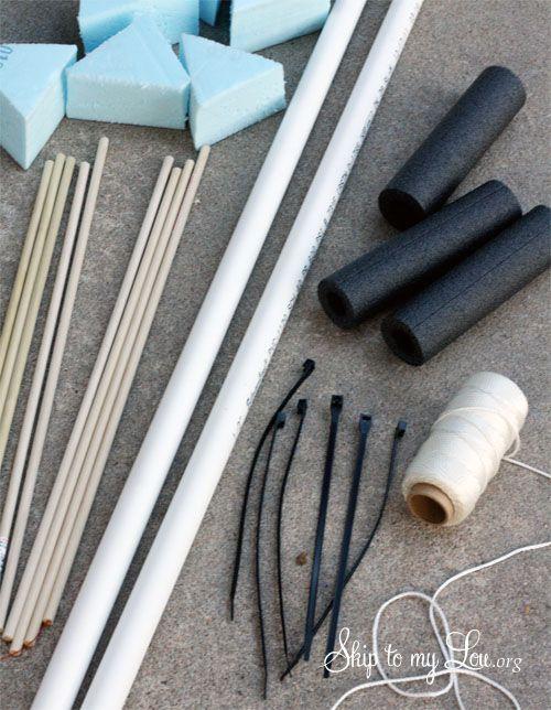 How to make a PVC Bow & Arrow |  Supplies