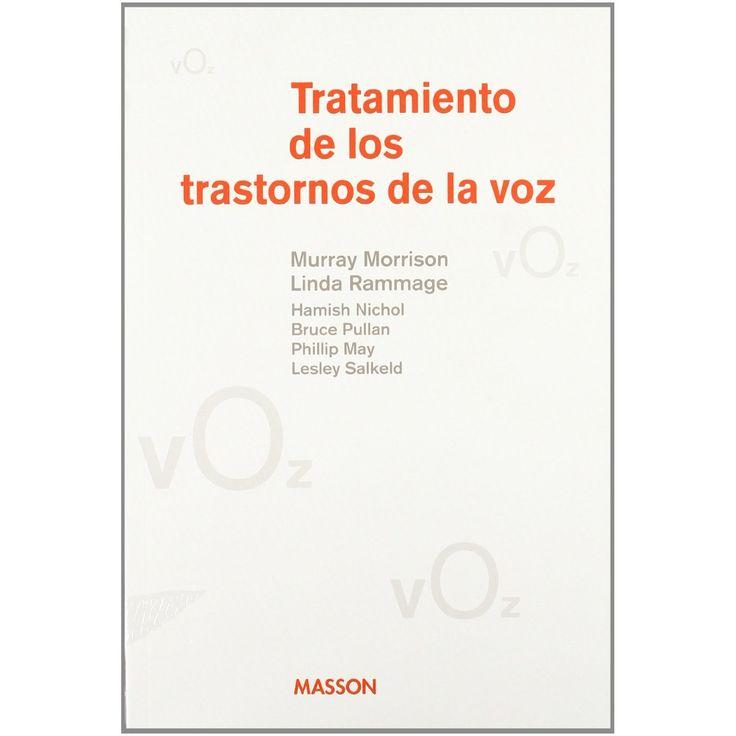 Tratamiento de los trastornos de la voz (M. Morrison) FREE DOWNLOAD